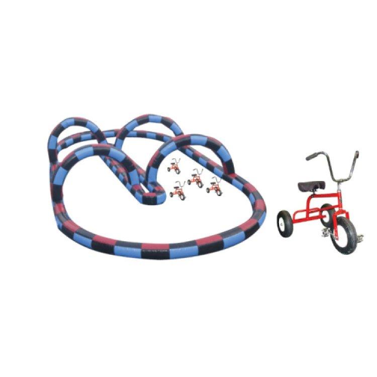 Wacky Trikes with Tracks- 3 bicycles