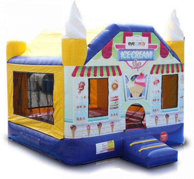 Ice Cream Shop Bouncer