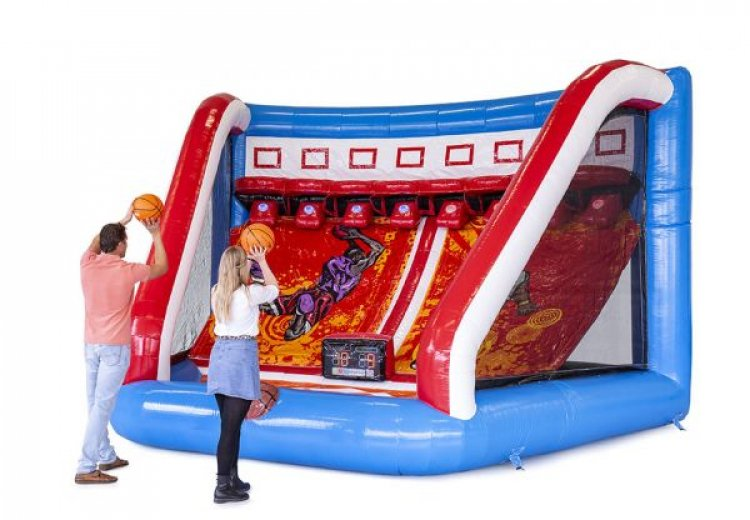 Interactive Basketball Inflatable