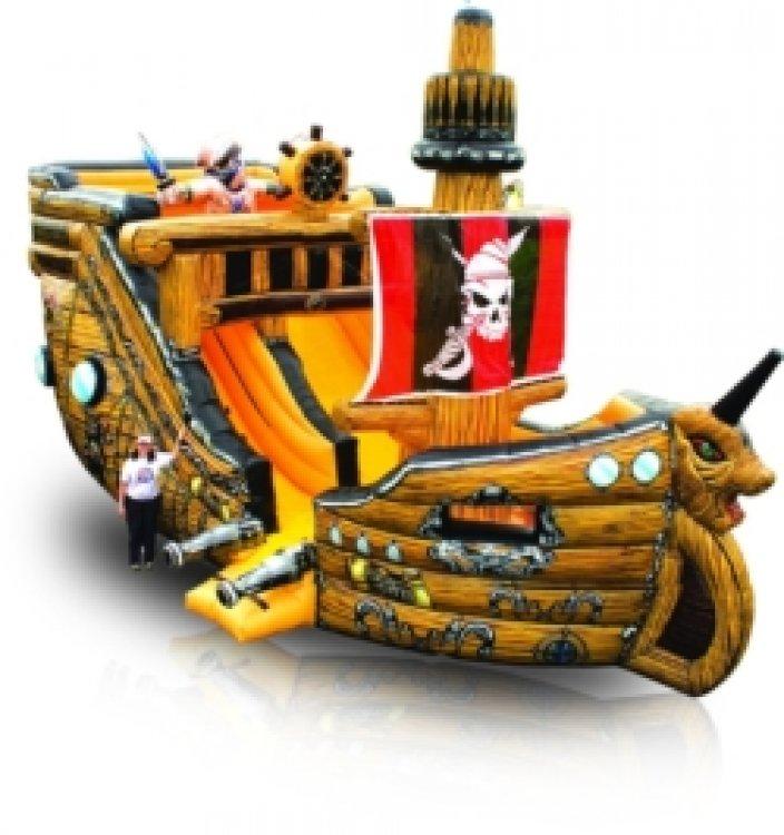 Pirate Ship Slide