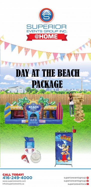 Day at the Beach Package
