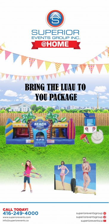 Bring the Luau to You Package