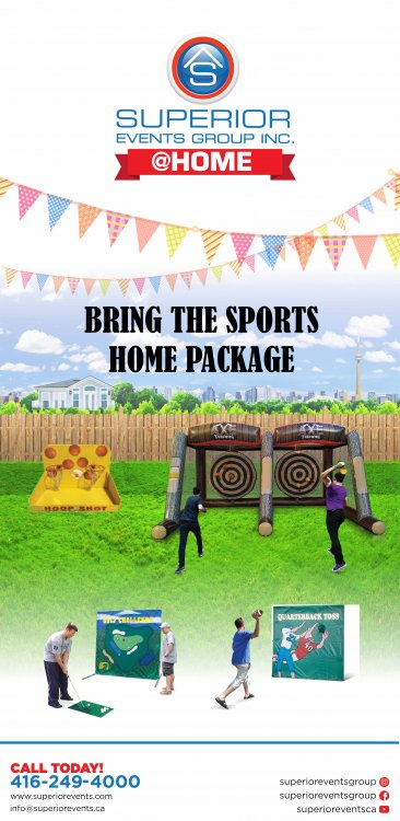 Bring the Sports Home Package