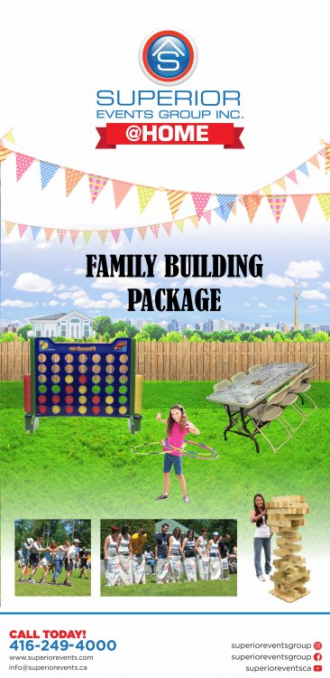 Family Building Package (6 ppl)