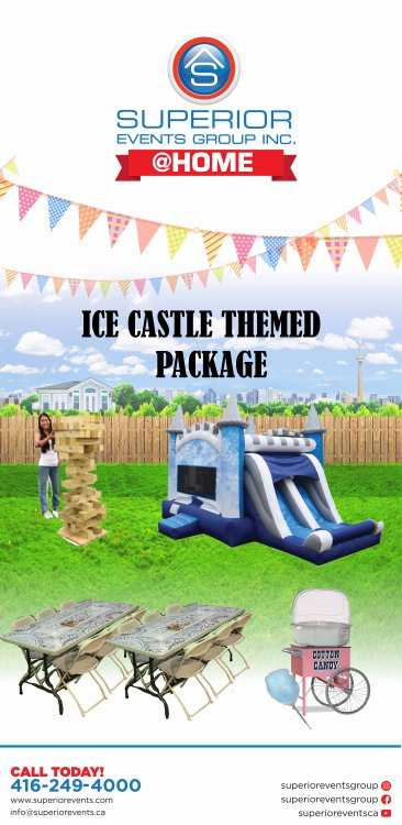 Ice Castle Themed Package