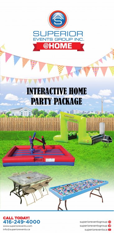 Interactive Home Party Package