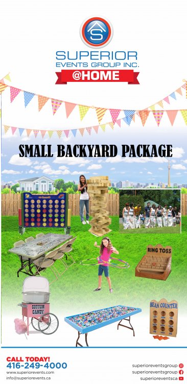 Small Backyard Package