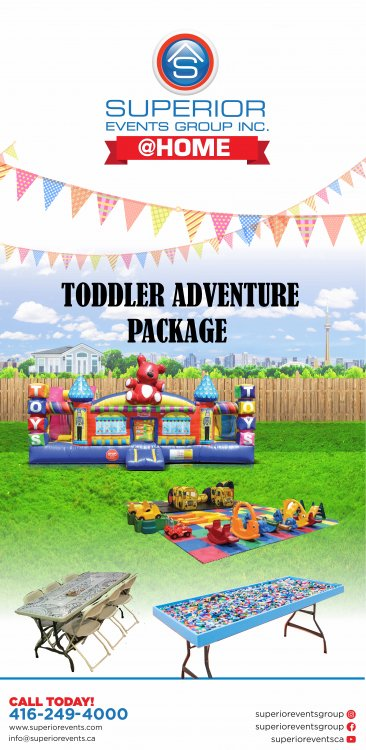 Toddler Adventure Package