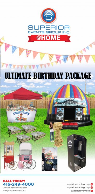 Ultimate Birthday Package