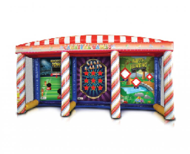 Inflatable Carnival 3 in 1