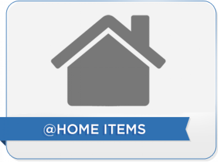 SEG @ Home Rental Items ONLY