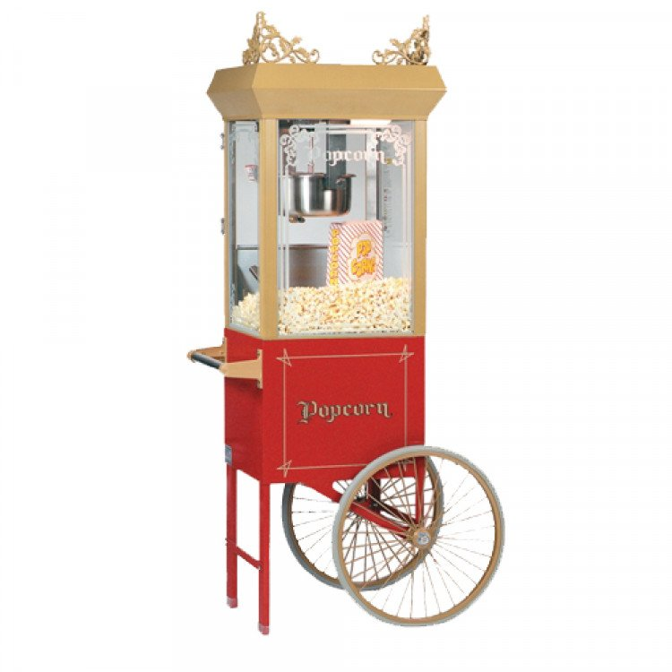 Antique Popcorn Cart