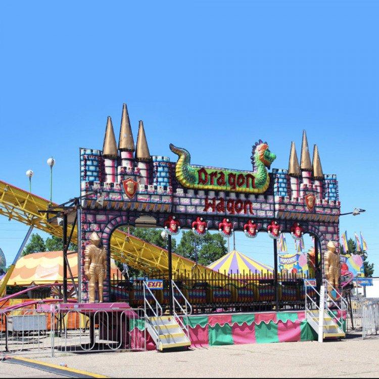Dragon Wagon Roller Coaster