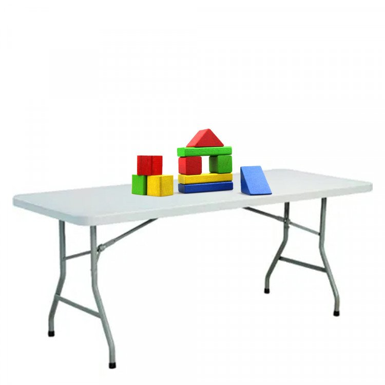 Building Block Table - Soft Blocks for Ages 0-2