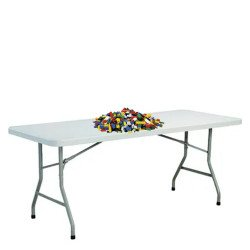 Building Block Table - Small Blocks for Ages 6+