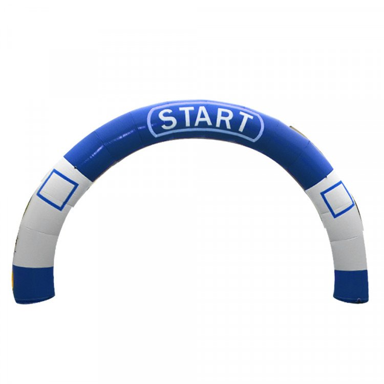 Inflatable Archway - Blue/White