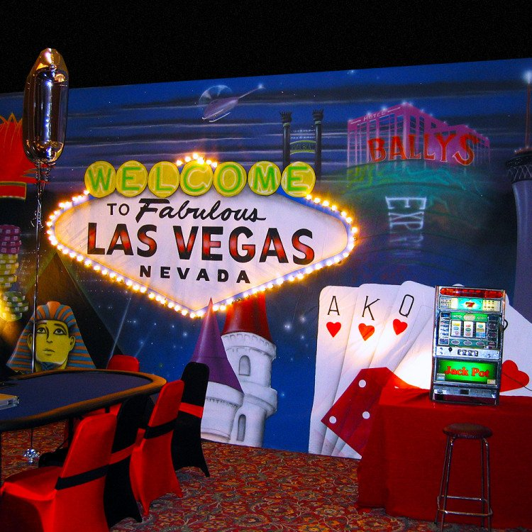 Casino Decor Package