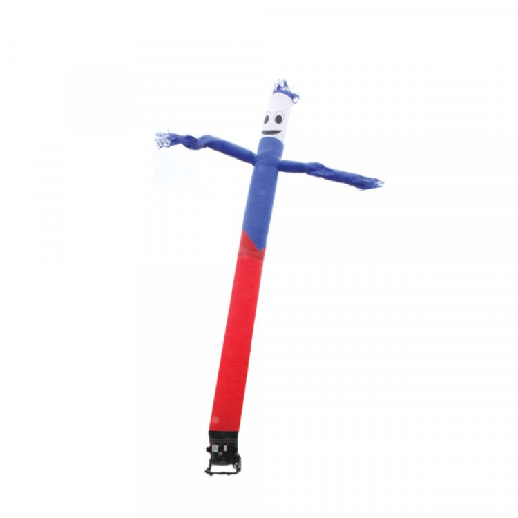 Sky Dancer - Blue/Red/White with Smiley Face